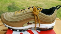 Nike Air Max 97 - Gold -*brand new* Wenonah, 08090
