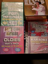 Karaoke CD's assorted  Toronto, L4J 8J2
