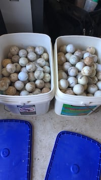 Used golf balls i picked up while looking for my own errant balls Sterling, 20165