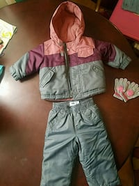 Girls 12-18 month Snowsuit