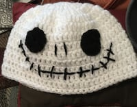 white and black knit cap Stockton, 95204