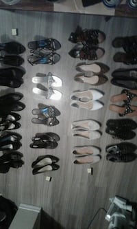 assorted pairs of shoes and sandals Prince George, V2M 4N1