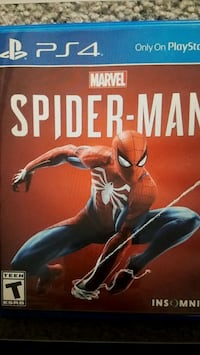 Spider-Man PS4 Game Carrollton, 75007