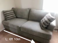 Full length gray sofa/ excellent condition  Salem, 24153