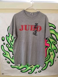 Judo t-shirt Size L vintage used