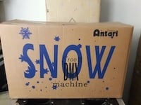 ANTARI SNOW MACHINE