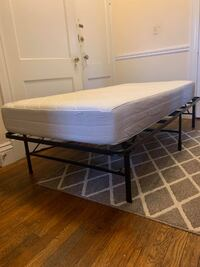 TWIN XL MATTRESS AND BED FRAME