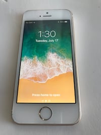 Iphone Gold 5 se 64G Unlocked Edmonton, T6M 2W3
