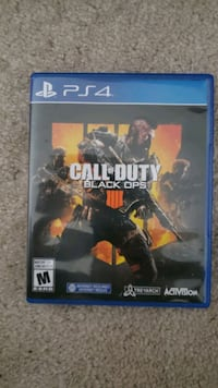 Call of duty black ops 4 ps4 $40 Mississauga, L5M 6J3