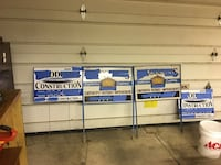 Job site signs take the tape and letters off and make your own Catonsville, 21228