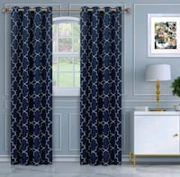 Navy blackout curtains /Panels  Richmond Hill, L4C 3T9