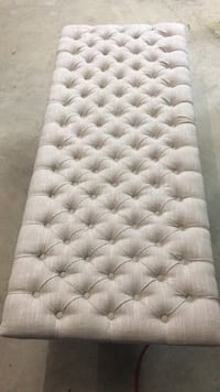 Beige tufted headboard Chantilly, 20152