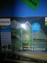 Philips Motion Laser projector box Los Angeles, 90016