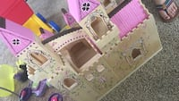 pink and beige castle dollhouse Alexandria, 22310