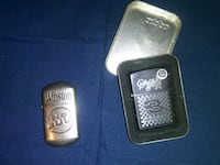 two silver-colored Zippo flip lighters Girardville, 17935