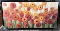 Orange Floral Wall Picture Brand New Hamilton, L8V 2R2