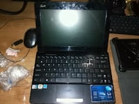 black laptop computer with AC adapter Edmonton, T5B 2W6