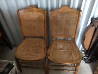 2 caned chairs  , N0A 1H0