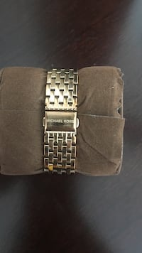 silver-colored Michael Kors watch link bracelet Semmes, 36575