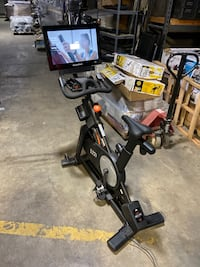NordicTrack Commercial S22i Studio Cycle. Comparable to Pelaton.