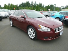 red Nissan Maxima