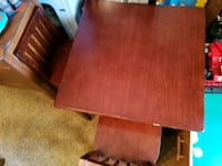 wooden kids table and chairs  Altoona, 50009