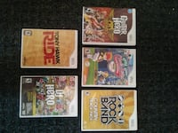 Wii Games- $3 each or $20 for all