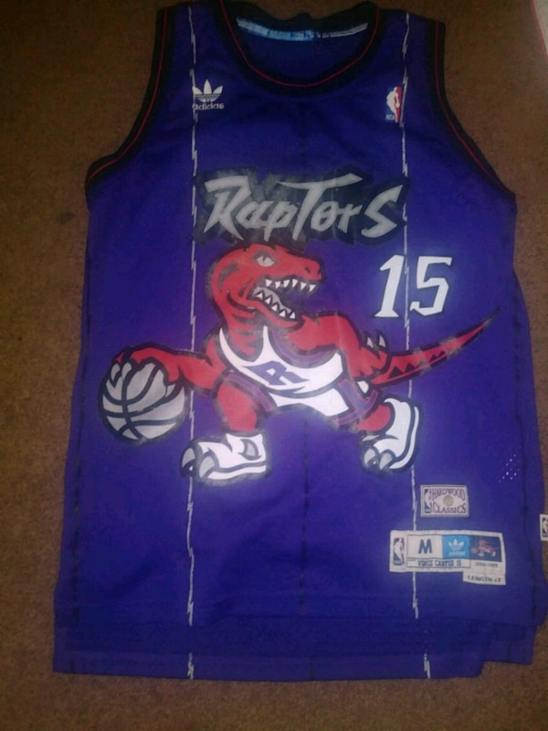 new concept 43817 0fc6c Used Raptors Vince Carter Jersey Adidas for sale in ...