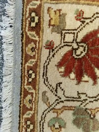white, brown, and red floral area rug Jacksonville, 32225
