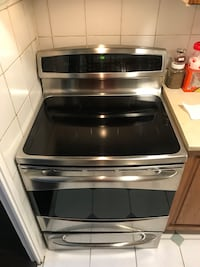 stainless steel and black induction range oven Toronto, M1K