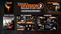 Division 2 New York of Warlords DLC Ultimate PC  Uplay hesabı