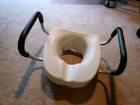 Raised Toilet Seat with hands Invacare Kansas City, 64114