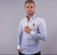 Wooden button shirt/camisa con boton de maderac272 Perth Amboy, 08861