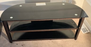 Mid condition | Glass top tv/ console table