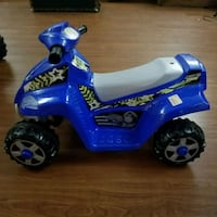 blue and white ride-on ATV toy Lawrenceville, 30043