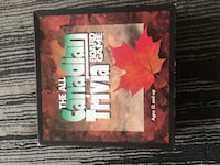 The all Canadian trivia board game  Kitchener, N2A 4L2