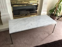 Marble top coffee table Surrey, V3W 4A5