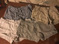 Women's Aeropostale and rue 21 shorts