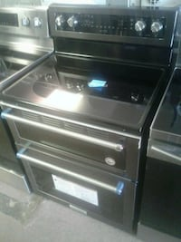 black and gray induction range oven McKinney, 75069
