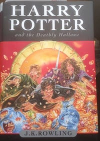 4 HARRY POTTER HARDCOVER BOOKS-2 CDN 1ST EDITONS Burlington