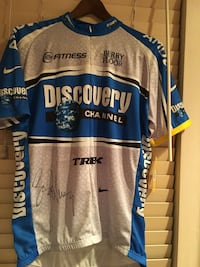 Lance Armstrong signed Jersey