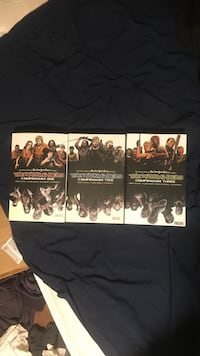 Walking dead compendiums 1, 2 and 3 Fairfield, 04937