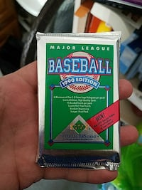 Sealed Upper Deck 1990 collector baseball cards Scotch Plains, 07076