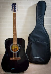 black and brown acoustic guitar Hampton, 23664