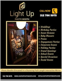 Photo Booth / Mirror Booth Rental Bolingbrook