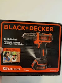 its a black and Decker drill  Coquitlam, V3C 2K7