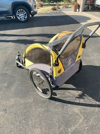 Copilot bicycle trailer/stroller