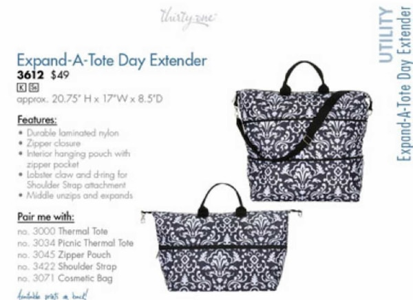 31af1b4140 Used Thirty one Expand A Tote for sale in Hackettstown - letgo