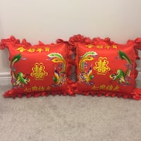 Chinese wedding cushions and wall decals Brampton, L6V 5X1