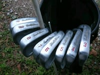 two gray and black golf clubs Tomball, 77377